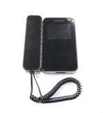 """KW-E350C черный Монитор видеодомофона, цв. LCD TFT 3,5"""", PAL/NTSC, трубка на магните, сменные мелодии вызова, сенсорные кнопки, 2 входа, ВСТРОЕННЫЙ источник питания АС220"""
