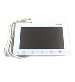 """SLINEX SM-07M White цветной видеодомофон 7""""Функция памяти,100 фото на внутреннюю память + поддержка microSD карт объемом до 32 ГБ"""