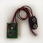 MTX Миниатюрный стационарный 2-канальный передатчик, 50м, 31х22 мм, 433,92 МГц